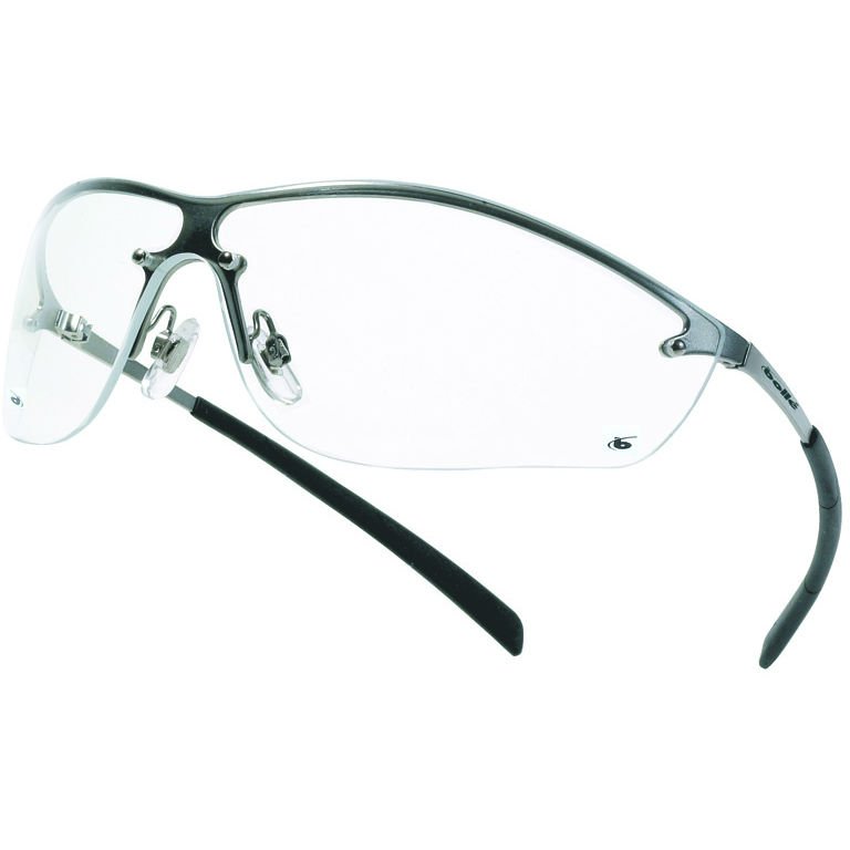 Bollé Silium Clear Safety Glasses SILPSI