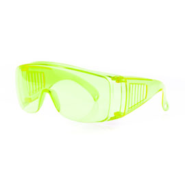 Green Safety Glasses