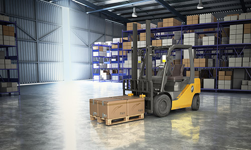 Warehouse workers often experience changing lighting conditions