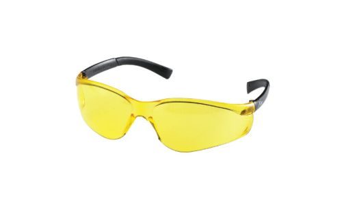 MCR Safety Parmalee Fire Amber Lens Safety Glasses 83004-20