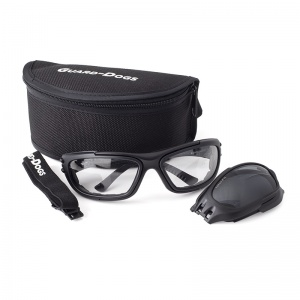 Guard Dogs G100 Safety Glasses Kit with Clear and Smoke-Tinted Lenses