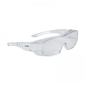 Bollé Overlight OTG Clear Safety Glasses OVLITLPSI