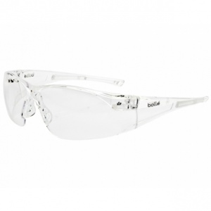 Bollé Rush Clear Safety Glasses RUSHPSI