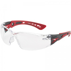 Bollé Rush+ Clear Safety Glasses RUSHPPSI