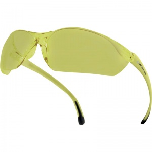 Delta Plus Meia Yellow Safety Glasses