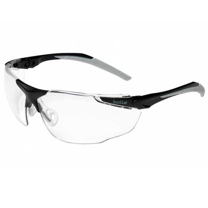 10 Bolle UNIVERSAL Safety Glasses//Spectacles Smoke Lens Anti Scratch Fog UNIPSF