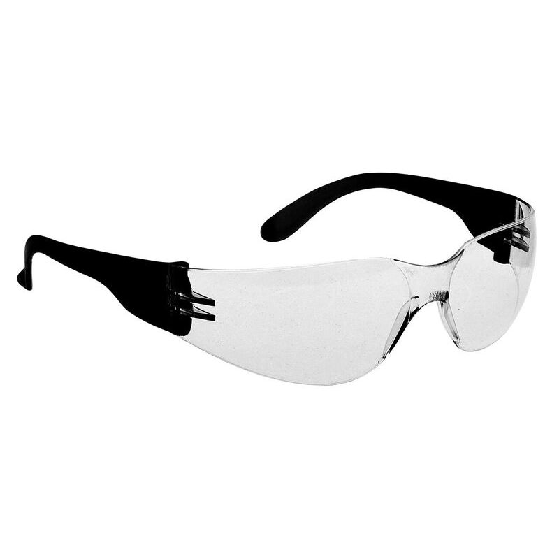 e9b042063dcf Portwest Clear Wraparound Safety Glasses PW32 - SafetyGoggles.co.uk