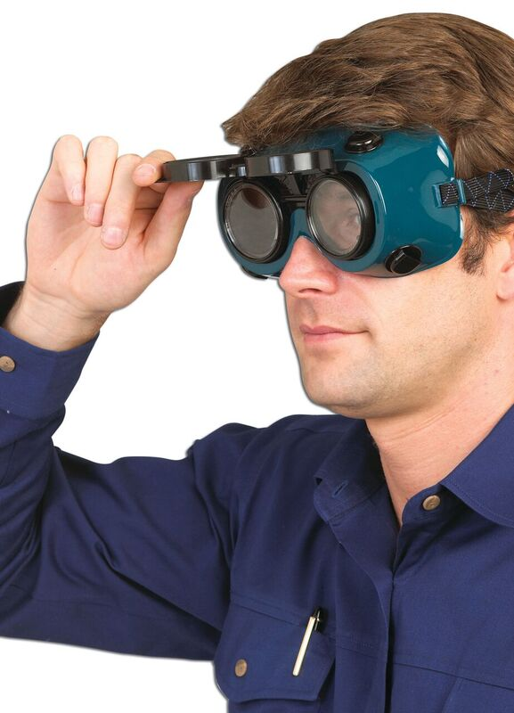Safety Goggles for Welding with Flip-Up Lens