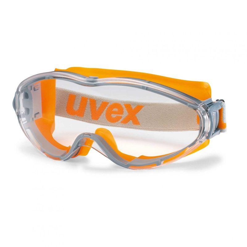 Bolle PILOPSI Pilot Spectacles Black /& Orange Frame Clear Anti-Scratch//Fog Lens