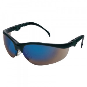 MCR Safety Klondike Plus Blue Mirror Lens Safety Glasses CEENKD318B