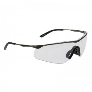 Portwest Clear Tech Metal Spectacle Safety Glasses PS16CLR