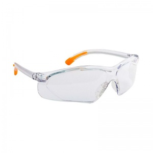 Portwest Clear Fossa Safety Glasses PW15CLR