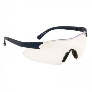 Portwest Clear Curvo Safety Glasses PW17CLR