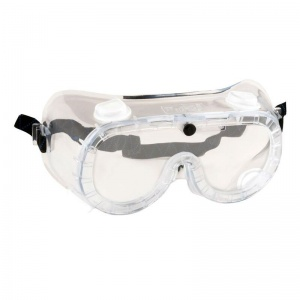 Portwest Clear Indirect Vent Safety Goggles PW21CLR