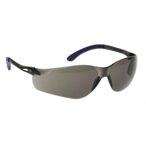 Portwest Smoke Lens Pan View Safety Glasses PW38