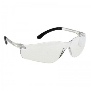 Portwest Clear Pan View Safety Glasses PW38