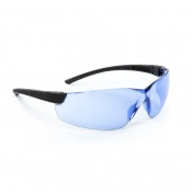 Riley Retna Blue Lightweight Safety Glasses RLY00095