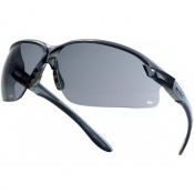 Bollé AXIS Smoke Lens Safety Glasses AXPSF