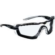 Bollé Cobra Clear Foam Safety Glasses COBFTPSI