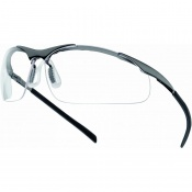 Bollé Contour Metal Clear Safety Glasses CONTMPSI