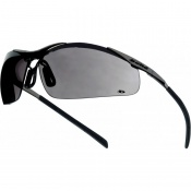 Bollé Contour Metal Smoke Lens Safety Glasses CONTMPSF