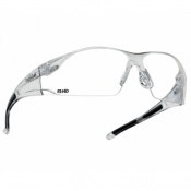Bollé Rush HD Clear Safety Glasses RUSHDPI