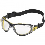 Delta Plus Pacaya Clear Safety Glasses with Strap