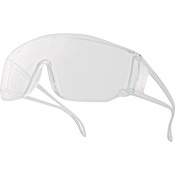 Delta Plus Piton 2 Clear Visitor Safety Glasses