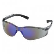 MCR Safety Parmalee Fire Blue Mirror Lens Safety Glasses 83005-20