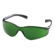 MCR Safety Parmalee Fire Green S3 Lens Safety Glasses 83006-3-20