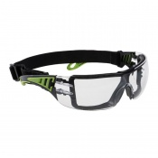 Portwest Clear Tech Look Plus Safety Glasses PS11CLR