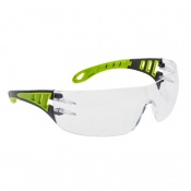Portwest Clear Tech Look Safety Glasses PS12CLR