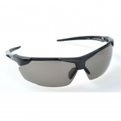 Portwest Smoke Lens Defender Safety Glasses PS04SKR