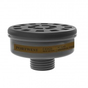 Portwest A2 Gas Filter with Universal Tread P906BKR (Pack of 6 Filters)