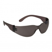 Portwest Smoke Lens Wraparound Safety Glasses PW32BKR