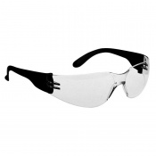 Portwest Clear Wraparound Safety Glasses PW32