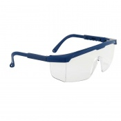 Portwest Clear Classic Panoramic Safety Glasses PW33