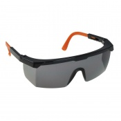 Portwest Smoke Lens Classic Panoramic Safety Glasses PW33SBO