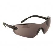 Portwest Smoke Lens Profile Frameless Safeguard Safety Glasses PW34SKR
