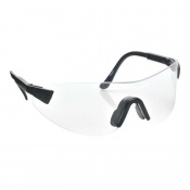 Portwest Clear Hi-Vision Safety Glasses PW36CLR