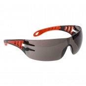 Portwest Smoke Lens Tech Look Safety Glasses PS12SKR