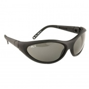 Portwest Smoke Lens Umbra Polarised Spectacle Safety Glasses PW18SKR