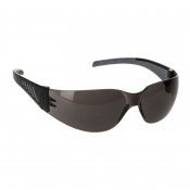 Portwest Wraparound Pro Smoke Safety Glasses PR32SKR