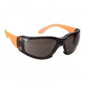 Portwest Wraparound Plus Smoke Safety Glasses PS32SKR