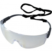 UCi Solomon Clear Adjustable Safety Glasses with Neck Cord I707