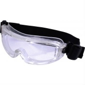 UCi Indirect Vent Clear Slimline Safety Goggles SG4632