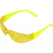 UCi Java Yellow Lens Safety Glasses with Hi-Vis Arms I907-HVY