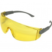 UCi Solomon Yellow Lens Adjustable Safety Glasses with Neck Cord I707