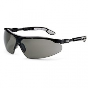 Uvex i-vo Grey Anti-Glare Safety Glasses 9160-076