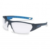 Uvex i-Works Clear Safety Glasses